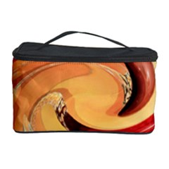 Spiral Abstract Colorful Edited Cosmetic Storage Case