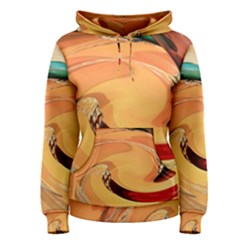 Spiral Abstract Colorful Edited Women s Pullover Hoodie