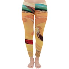 Spiral Abstract Colorful Edited Classic Winter Leggings