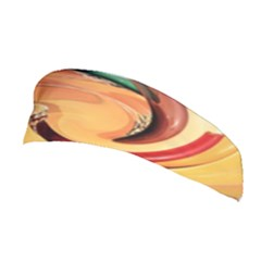 Spiral Abstract Colorful Edited Stretchable Headband