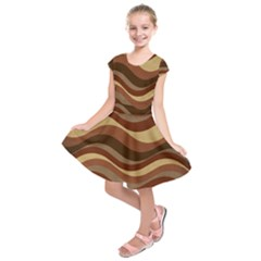 Backgrounds Background Structure Kids  Short Sleeve Dress