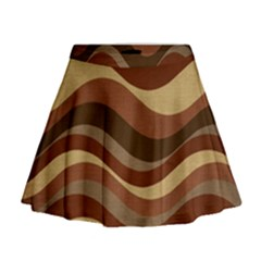 Backgrounds Background Structure Mini Flare Skirt