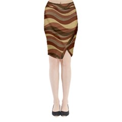 Backgrounds Background Structure Midi Wrap Pencil Skirt