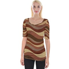 Backgrounds Background Structure Wide Neckline Tee