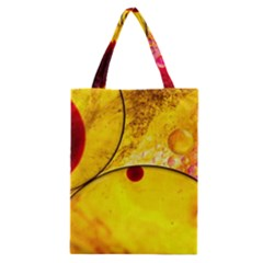 Abstract Water Oil Macro Classic Tote Bag