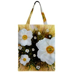 Summer Anemone Sylvestris Zipper Classic Tote Bag
