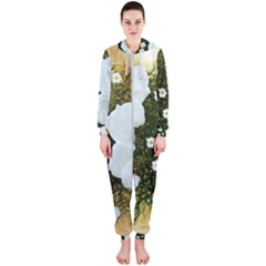Summer Anemone Sylvestris Hooded Jumpsuit (ladies)