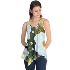 Summer Anemone Sylvestris Sleeveless Tunic