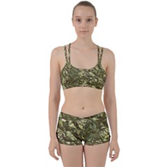 Seamless Repeat Repetitive Women s Sports Set by Nexatart