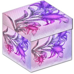 Flowers Flower Purple Flower Storage Stool 12