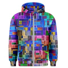Background Art Abstract Watercolor Men s Zipper Hoodie