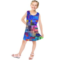 Background Art Abstract Watercolor Kids  Tunic Dress