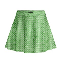 Knittedwoolcolour2 Mini Flare Skirt