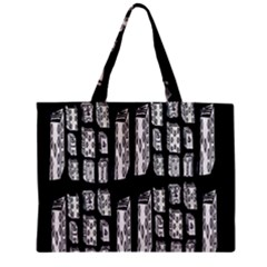 Numbers Cards 7898 Zipper Mini Tote Bag