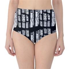 Numbers Cards 7898 High Waist Bikini Bottoms