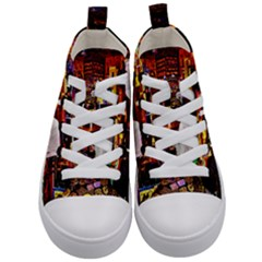 Apt Ron N Kid s Mid Top Canvas Sneakers