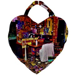 Home Sweet Home Giant Heart Shaped Tote