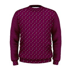 Pink Flowers Magenta Men s Sweatshirt by snowwhitegirl