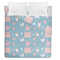 Baby Pattern Duvet Cover Double Side (queen Size)