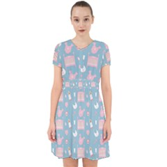 Baby Pattern Adorable In Chiffon Dress
