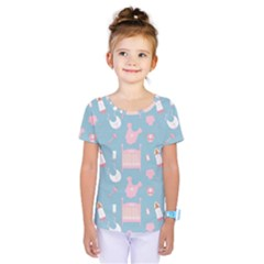 Baby Pattern Kids  One Piece Tee