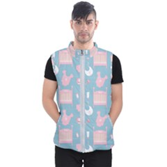 Baby Pattern Men s Puffer Vest