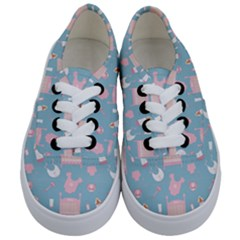 Baby Pattern Kids  Classic Low Top Sneakers