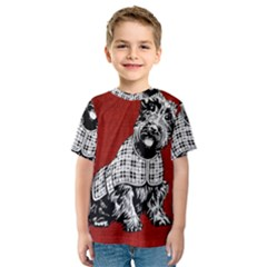 Scottish Kids  Sport Mesh Tee by vintage2030