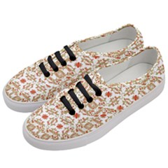 Colorful Modern Pattern Women s Classic Low Top Sneakers by dflcprints