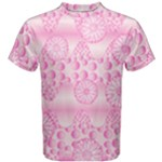 Amoebaflowerspink Men s Cotton Tee