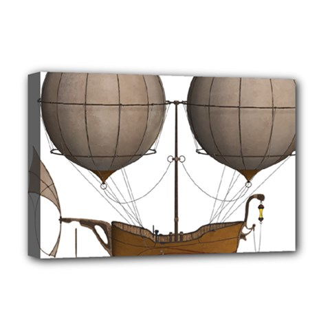 Air Ship 1300078 1280 Deluxe Canvas 18  X 12   by vintage2030