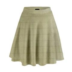 Old Letter High Waist Skirt by vintage2030
