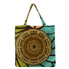 Kaleidoscope Dream Illusion Grocery Tote Bag