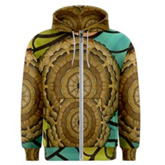 Kaleidoscope Dream Illusion Men s Zipper Hoodie