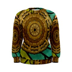 Kaleidoscope Dream Illusion Women s Sweatshirt