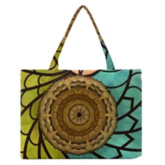 Kaleidoscope Dream Illusion Zipper Medium Tote Bag