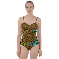 Kaleidoscope Dream Illusion Sweetheart Tankini Set