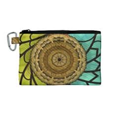 Kaleidoscope Dream Illusion Canvas Cosmetic Bag (medium)