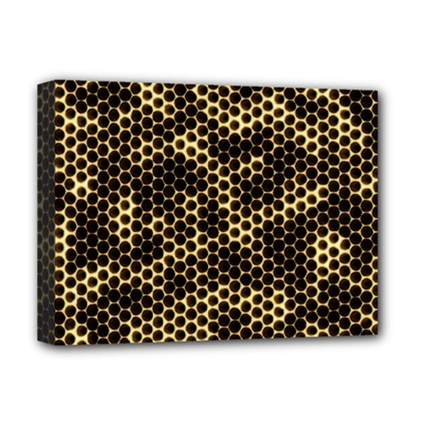 Honeycomb Beehive Nature Deluxe Canvas 16  X 12