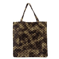 Honeycomb Beehive Nature Grocery Tote Bag by Nexatart