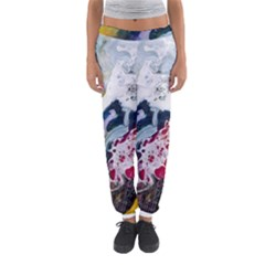 Abstract Art Detail Painting Women s Jogger Sweatpants by Nexatart