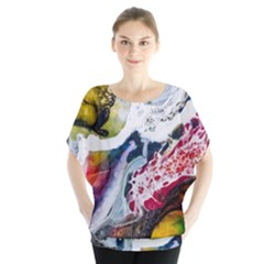 Abstract Art Detail Painting Blouse
