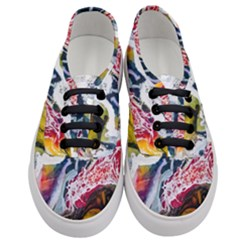 Abstract Art Detail Painting Women s Classic Low Top Sneakers