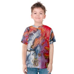Art Abstract Macro Kids  Cotton Tee