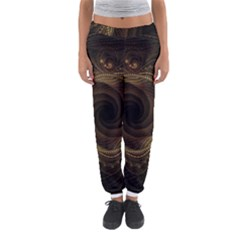 Beads Fractal Abstract Pattern Women s Jogger Sweatpants