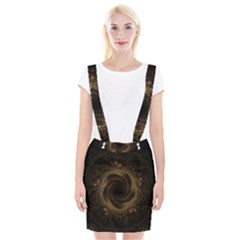 Beads Fractal Abstract Pattern Braces Suspender Skirt