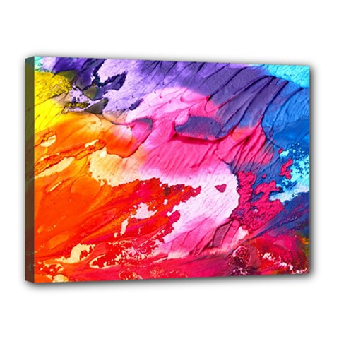 Abstract Art Background Paint Canvas 16  X 12