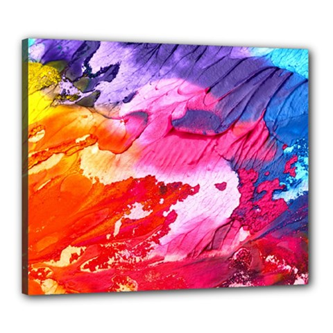 Abstract Art Background Paint Canvas 24  X 20
