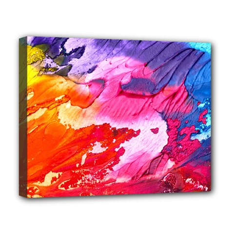 Abstract Art Background Paint Deluxe Canvas 20  X 16