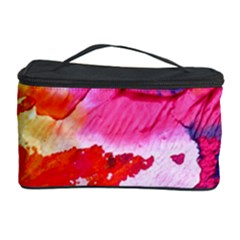 Abstract Art Background Paint Cosmetic Storage Case